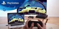 PlayStation 4 PS4 USB adaptator adaptateur PSNow pic hardware PC 2