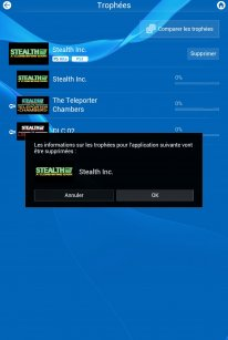 PlayStation App Tuto trophees supprimer (2)
