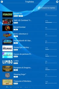 PlayStation App Tuto trophees supprimer (4)
