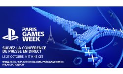 PlayStation Conférence Paris Games Week banner PGW