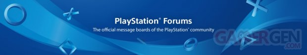 PlayStation Forums