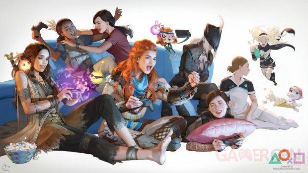 PlayStation Journée Internationale Droits des Femmes 2019 thème PS4