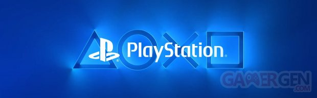PlayStation logo head banner icones boutons