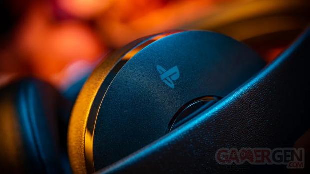 PlayStation logo périphériques audio head