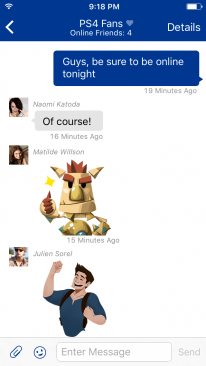 PlayStation Messages : une nouvelle application iOS et Android pour