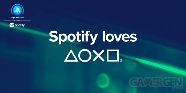 PlayStation Music Spotify logo
