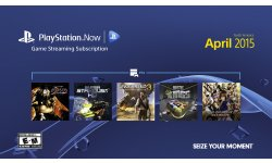 PlayStation Now avril 2015