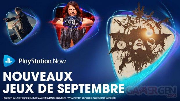 PlayStation Now européen 01 09 2020