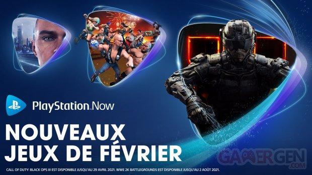 PlayStation Now européen 02 02 2021