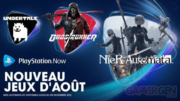PlayStation Now européen 02 08 2021