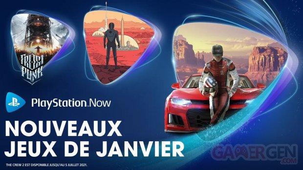 PlayStation Now européen 05 01 2021