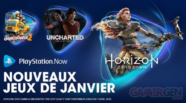 PlayStation Now janvier 2020