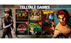 PlayStation Now jeux Telltale Games