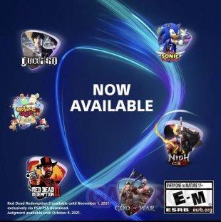 PlayStation Now juillet 2021 leak