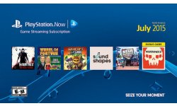 PlayStation Now juillet