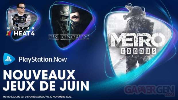 PlayStation Now juin 2020