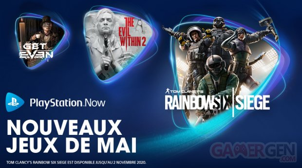 PlayStation Now mai 2020
