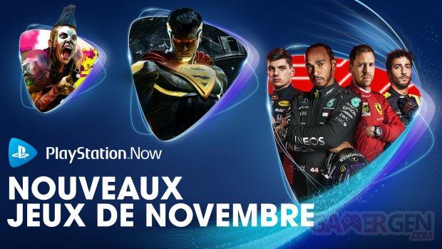 PlayStation Now Novembre 2020
