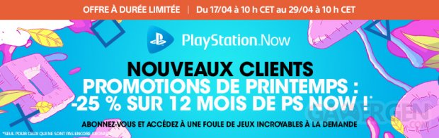 PlayStation Now offres