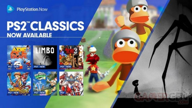 PlayStation Now PS2 Classics