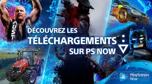 PlayStation Now téléchargement