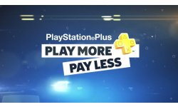 PlayStation Plus Play More Pay Less head