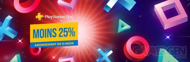 PlayStation Plus promo soldes janvier abonnement 12 mois