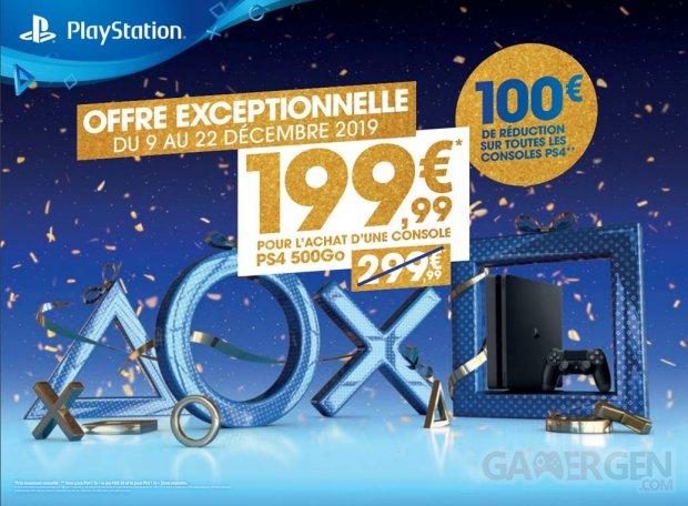 PlayStation promotions Noël 09 12 2019