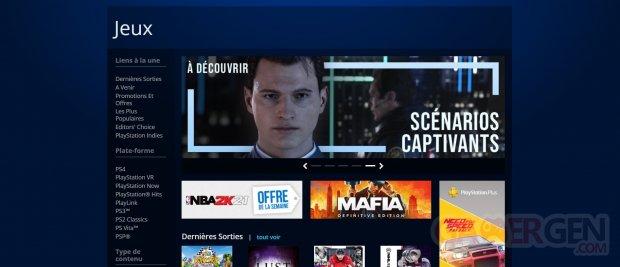 PlayStation Store desktop 16 10 2020