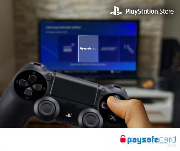 PlayStation Store paiement via paysafecard