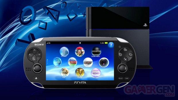 PlayStation Vita PS4 consoles