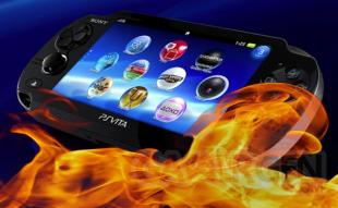 PlayStation Vita PSVita feu console 07.08.2013.