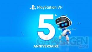 PlayStation VR 5 ans anniversaire head
