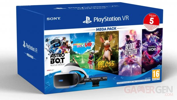 PlayStation VR Méga Pack 2020 bundle