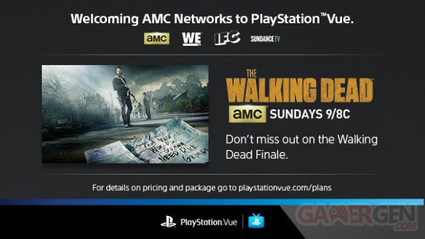 PlayStation Vue AMC