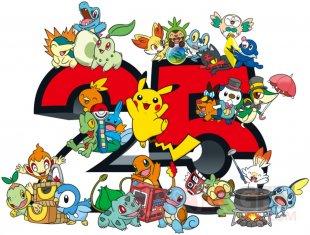 Pokémon 25 logo starters 13 01 2021