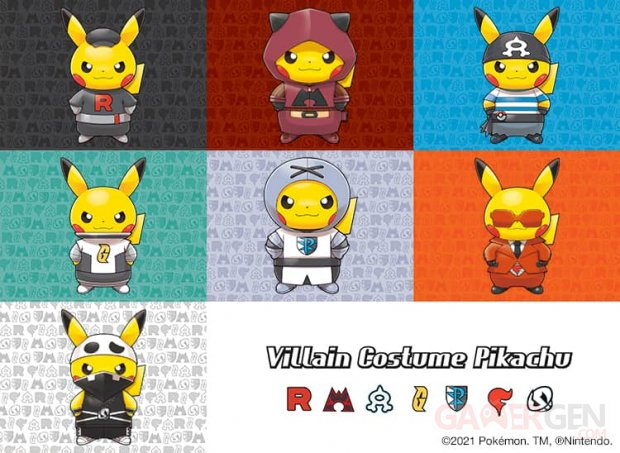 Pokémon by Celio Villain Costume Pikachu Collection 17 08 2021 head