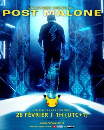 Pokémon Day Virtual Concert with Post Malone poster