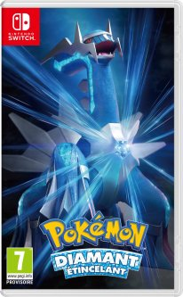 Pokémon Diamant Etincelant jaquette 26 05 2021