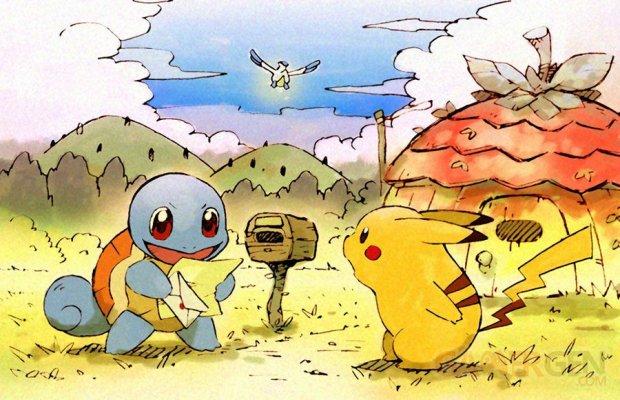 Pokémon Donjon Mystère art