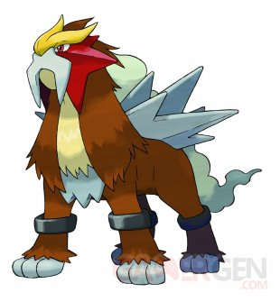 Pokémon Entei artwork 03 04 2018