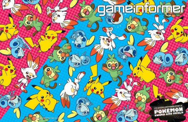 Pokémon Epée Bouclier couverture Game Informer 02 01 10 2019