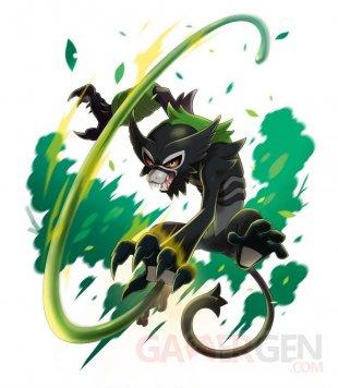Pokémon Epée Bouclier distribution Zarude artwork 10 03 2020