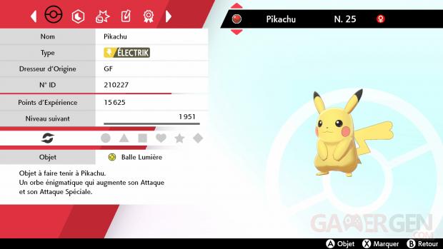 Pokémon Epée Bouclier Pikachu sing 25 02 2021