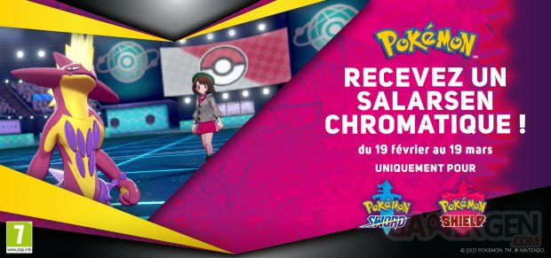 Pokémon Épée Bouclier Salarsen Chromatique