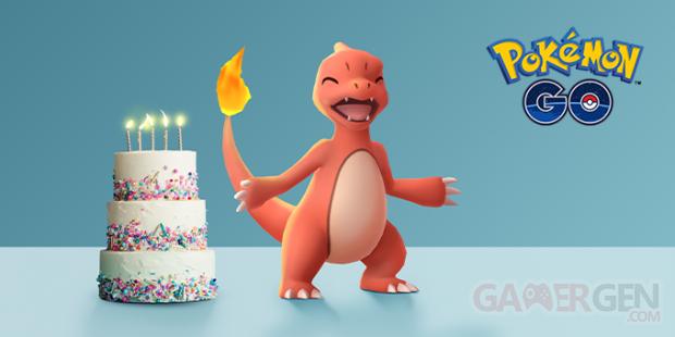 Pokémon GO anniversaire 5 ans