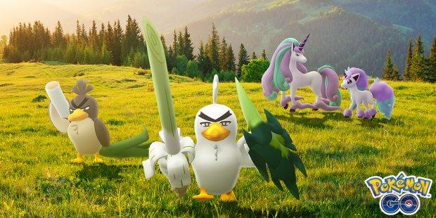 Pokémon GO Canarticho Palarticho Ponyta Galopa Galar
