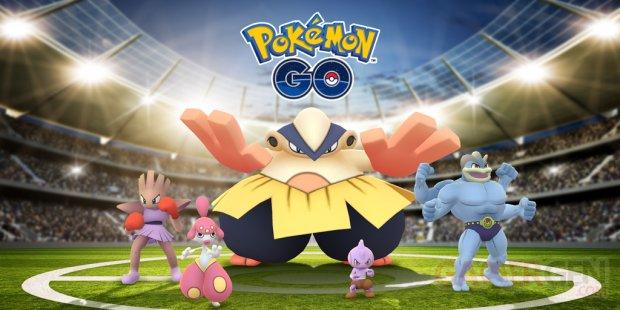 Pokémon GO Combat Épreuve de force mai 2018