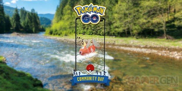 Pokémon GO Community Day Journée Communauté août 2020 Magicarpe