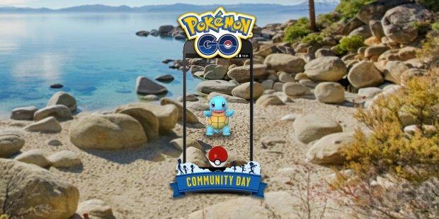 Pokémon GO Community Day Journée Communauté juillet Carapuce
